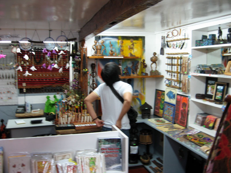 SOUVENIR SHOP. heads up for the prices!