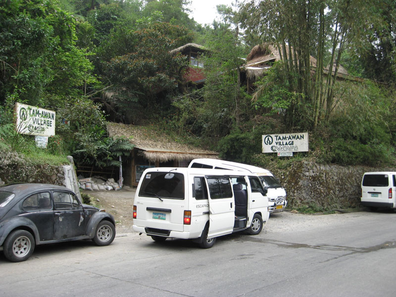 tamawan village. entrance fee @20php for kids,30 for students and for the not so young - 50php. (price date, march 2009)