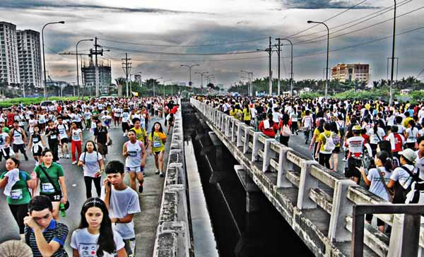 Run For The Pasig River, Diokno Avenue