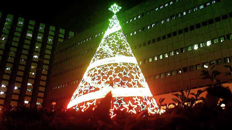 Christmas tree lighting ceremony BSP Complex