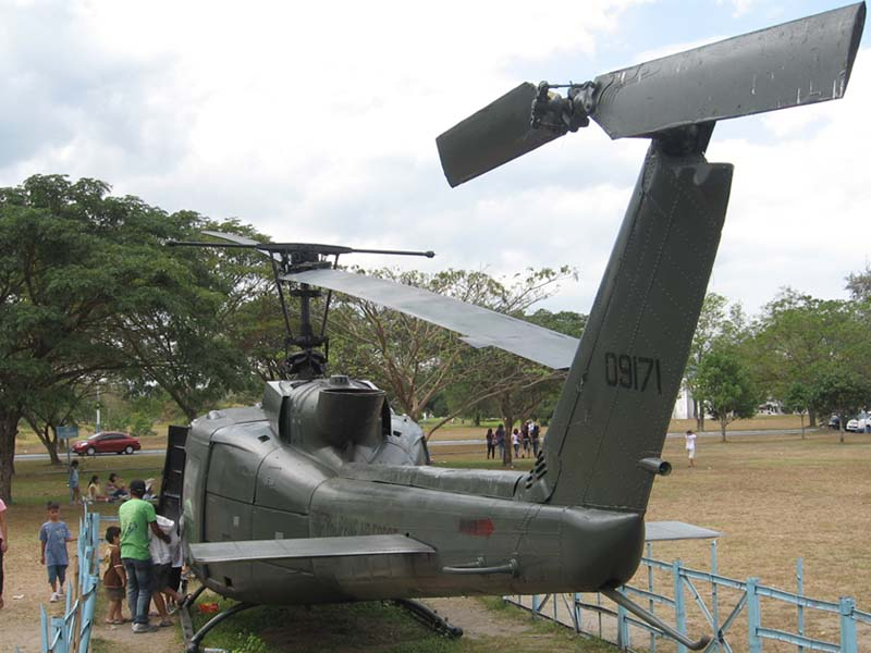 Old Huey helicopter