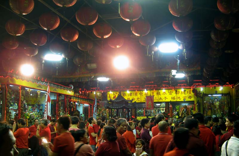 Inside the Temple Of Taoism