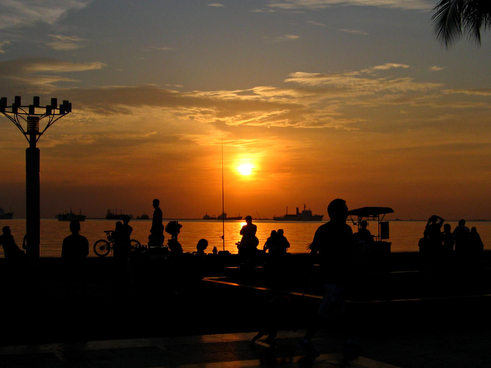 Manila Bay Sunset_April