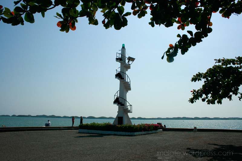 Lucap Warf Lighthouse