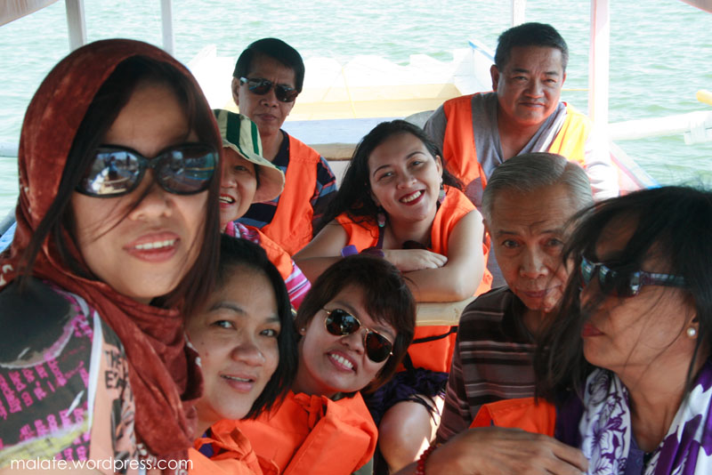 All smiles. CBAA employees conquers Hundred Island!
