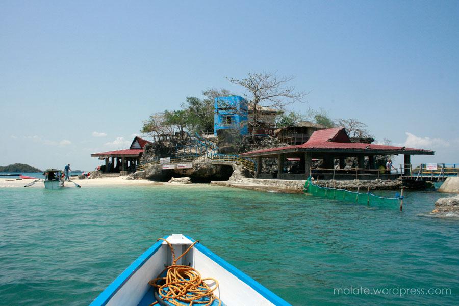 Landing at the Quezon Island
