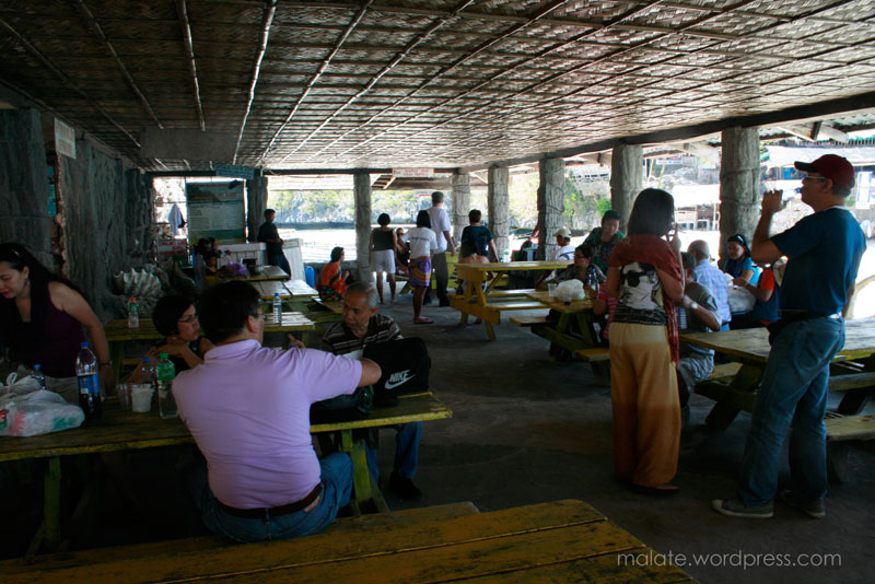 Quezon Island's picnic grove