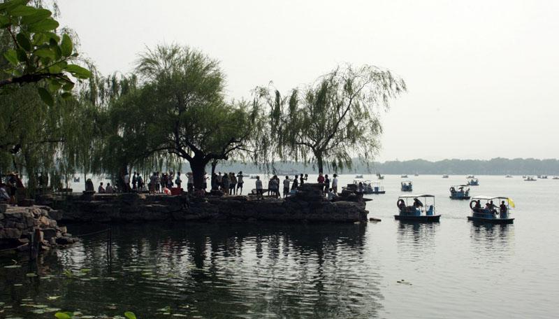 Rowboat dock