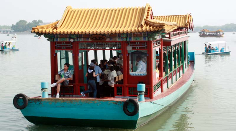 Ferryboat ride from the Shizang Pavilion