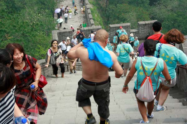 the half-naked truth about badaling pass