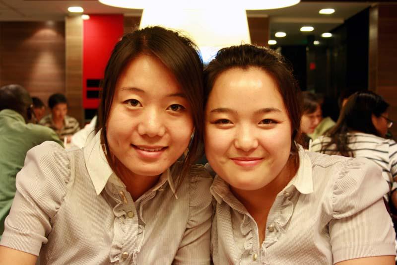 Tablemates at  McDonalds
