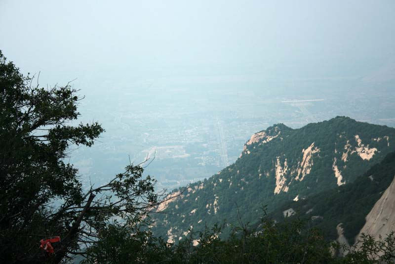 Huayin City from the Yuntai Peak