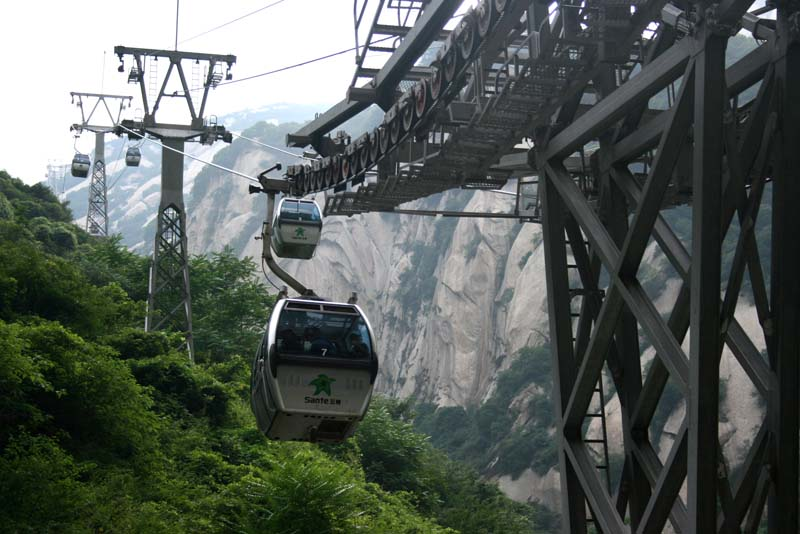 Sante Cableway Lower Station