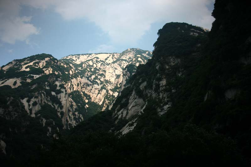 Twilight at Mount Hua