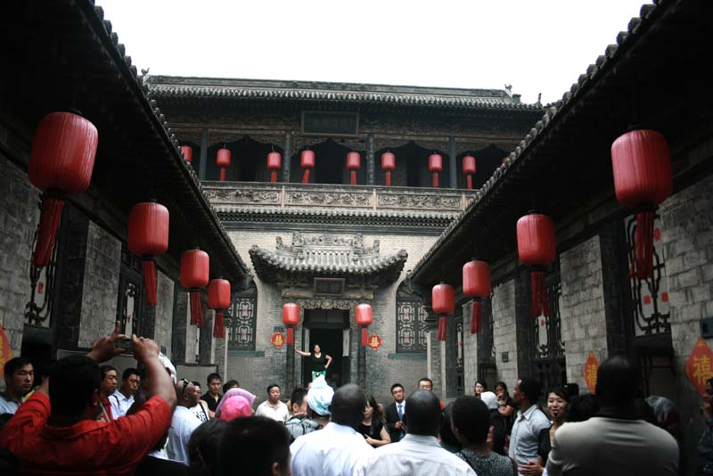 Qiao Family Compound is a huge labyrinth of halls, corridors and courtyards.