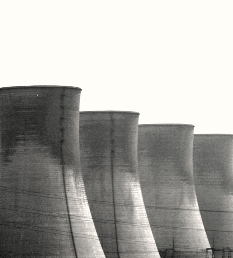 cooling towers of Shaanxi