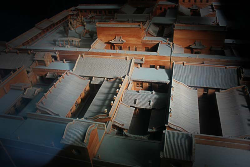 Qiao Grand Courtyard replica