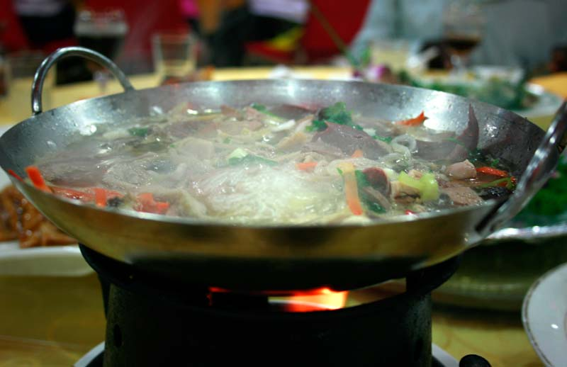 hotpot mutton giblet