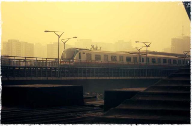 The China haze settles back