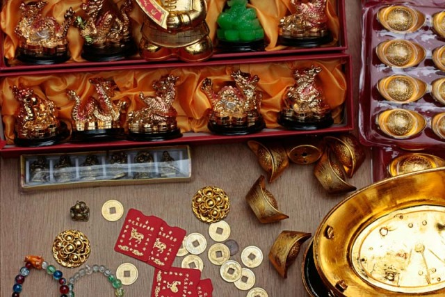 Lucky Feng Shui charms
