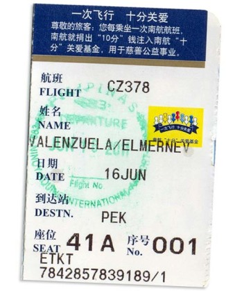 China Southern Air to Beijing