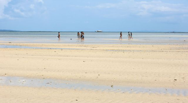 The sands of Cagbalete Island