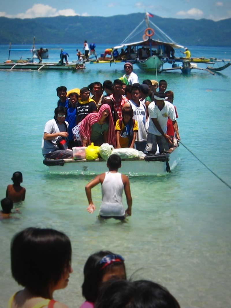 Trooping Cagbalete island