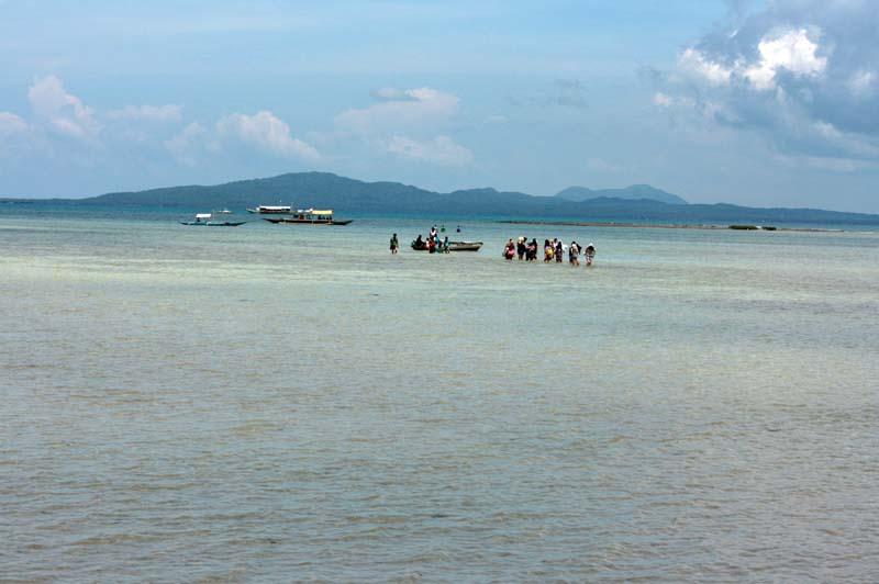Landing at Cagbalete island MacArthur style