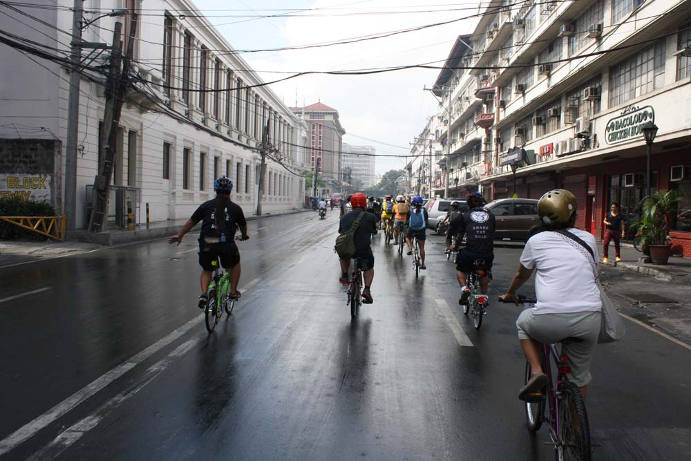 Cruising General Luna Street