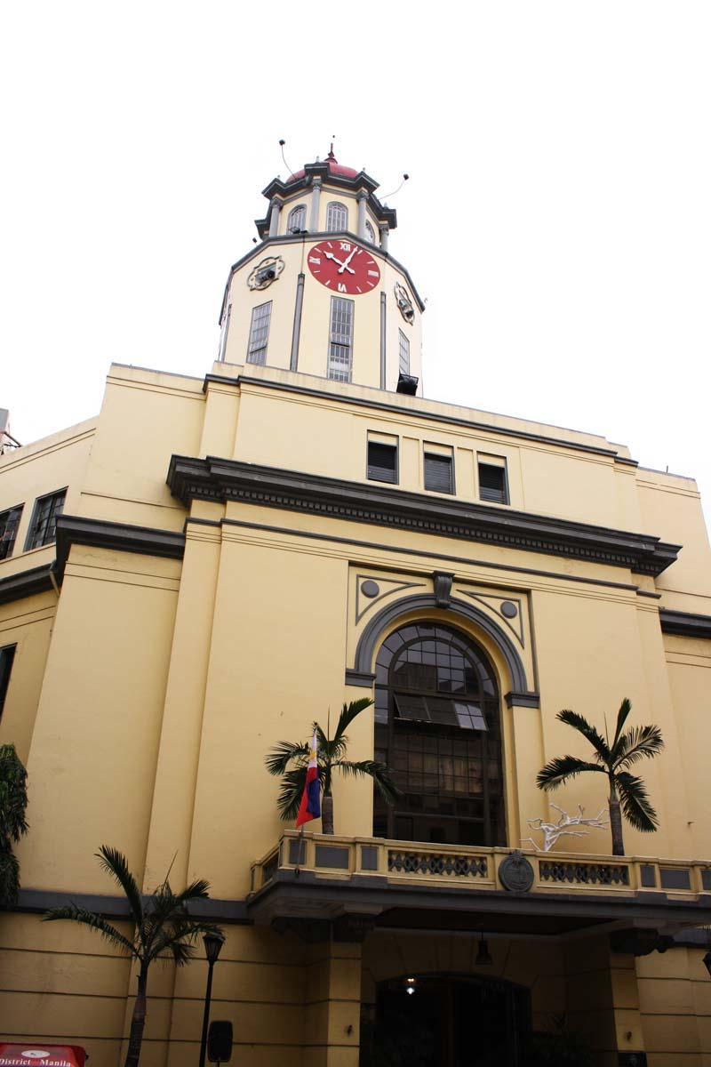 Art deco Manila City hall