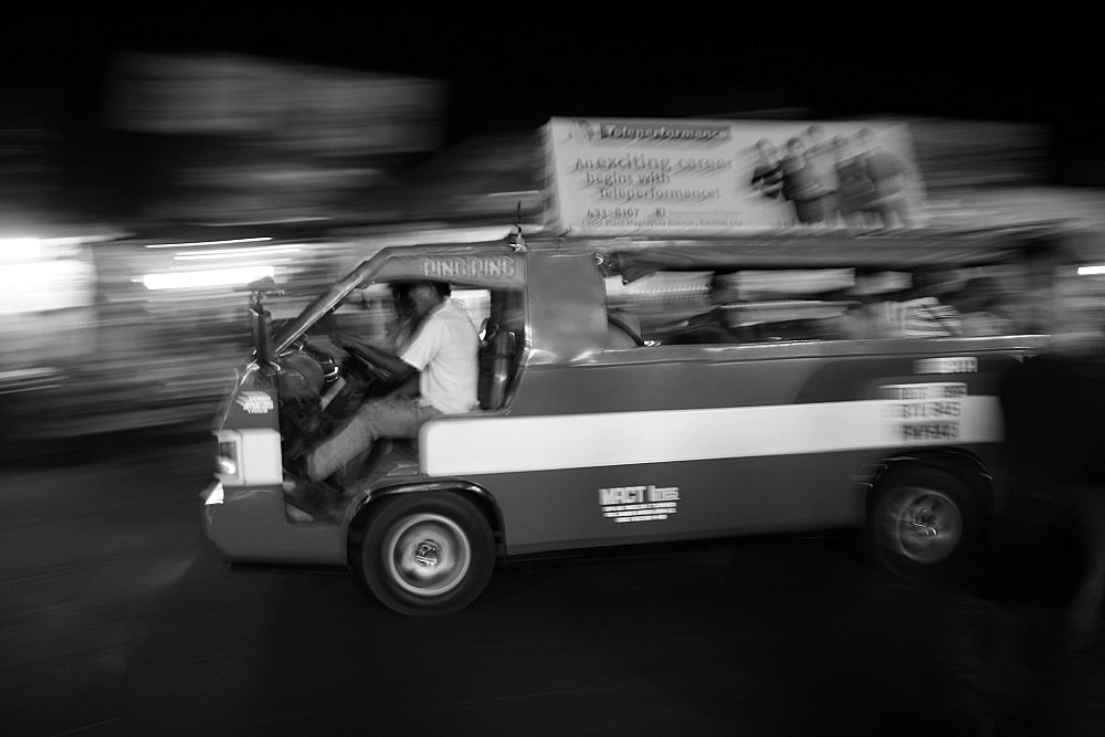 Fast commuter jeepney Bacolod City