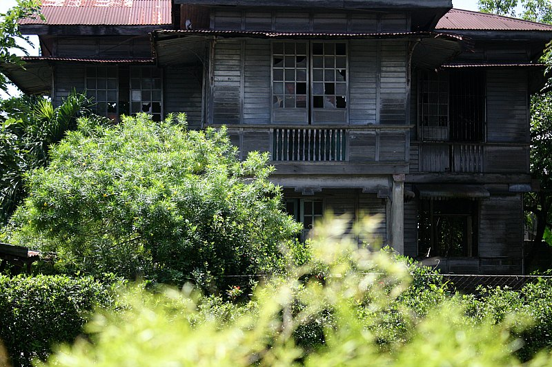 Abandoned house, Silay City