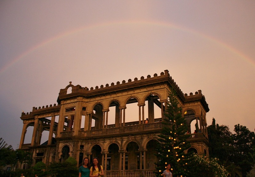 Rainbow Over The Ruins, Talisay City, Negros Occidental