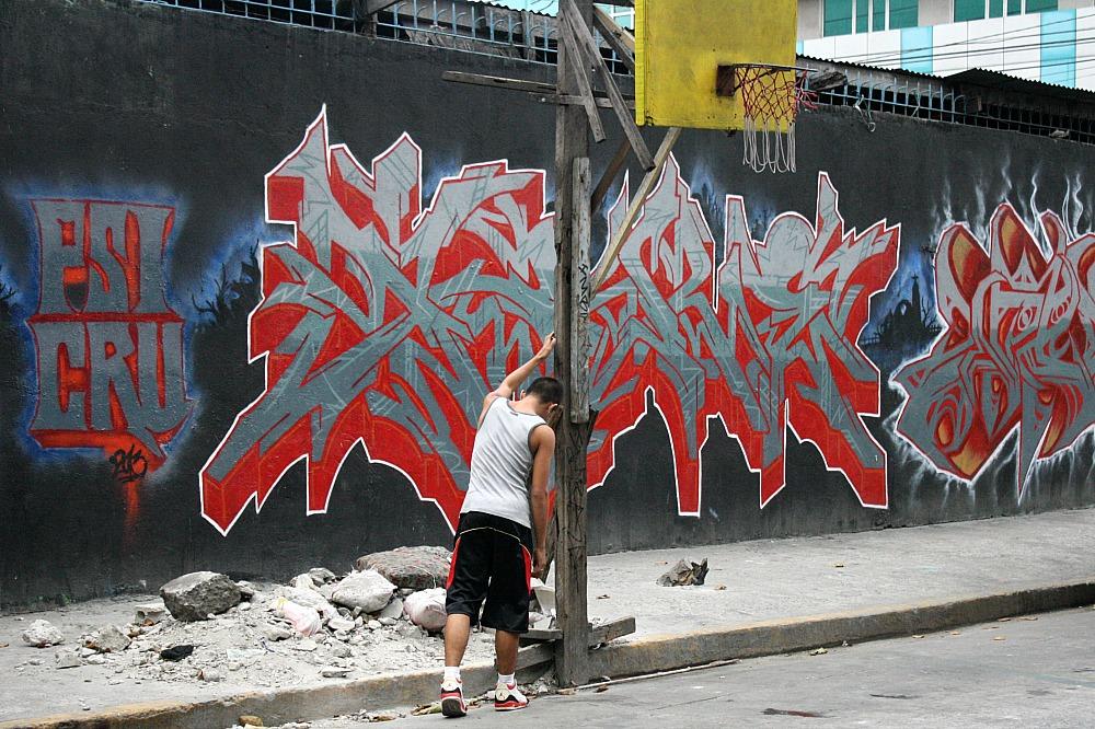 Street Art Manila, by Elmer Valenzuela, Malvar street Malate,graffiti,
