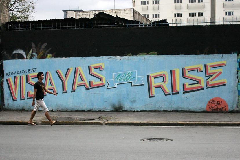 Street art manila for Bonifacio mural