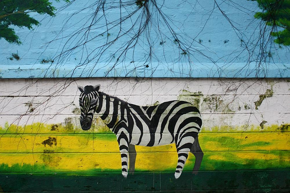 Street Art Manila, by Elmer Valenzuela, Manila zoo Malate