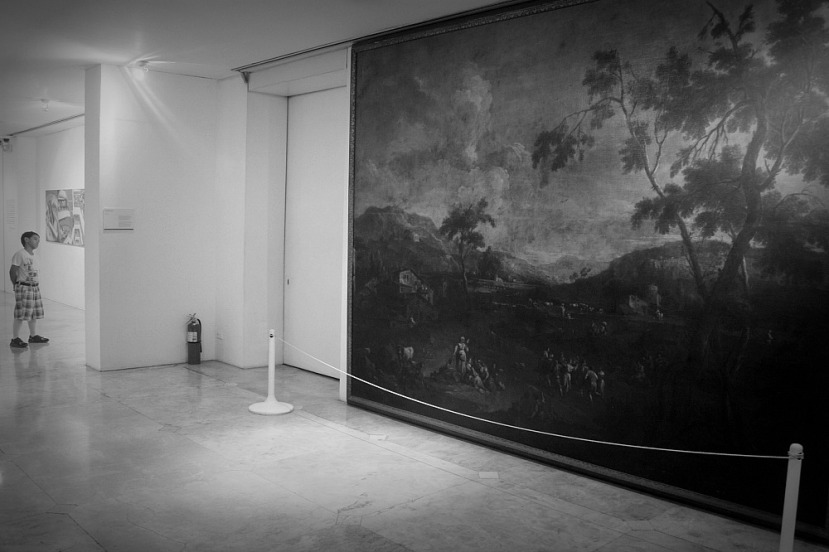 """Large Landscape With Figures"" (Giuseppe Zeis)"