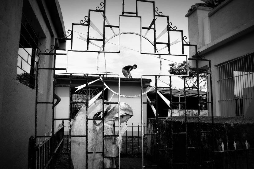 San Ramon Cemetery, Iriga City by Elmer Nev Valenzuela