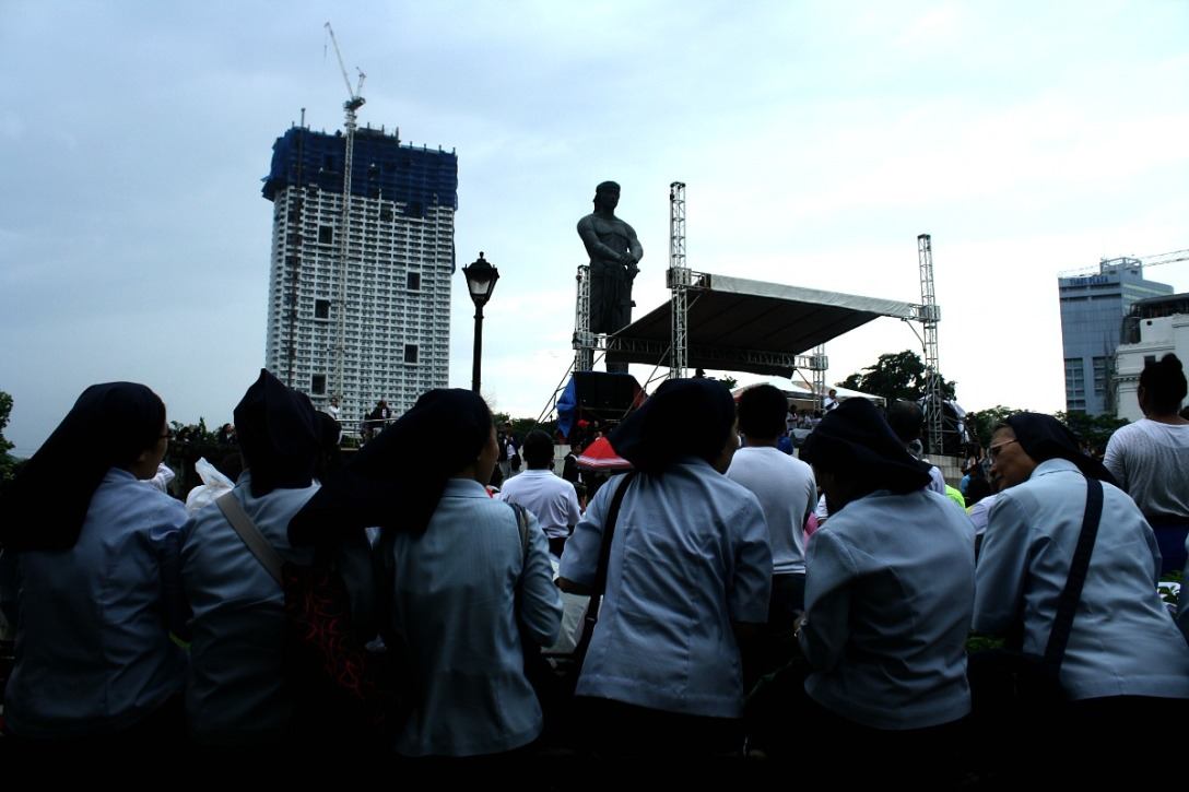 Citizens Assembly, Luneta. August 2016