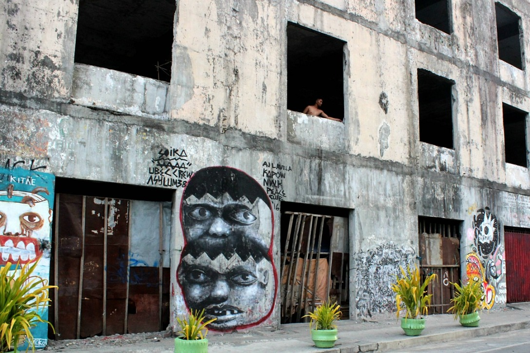 Street art. Iloilo city