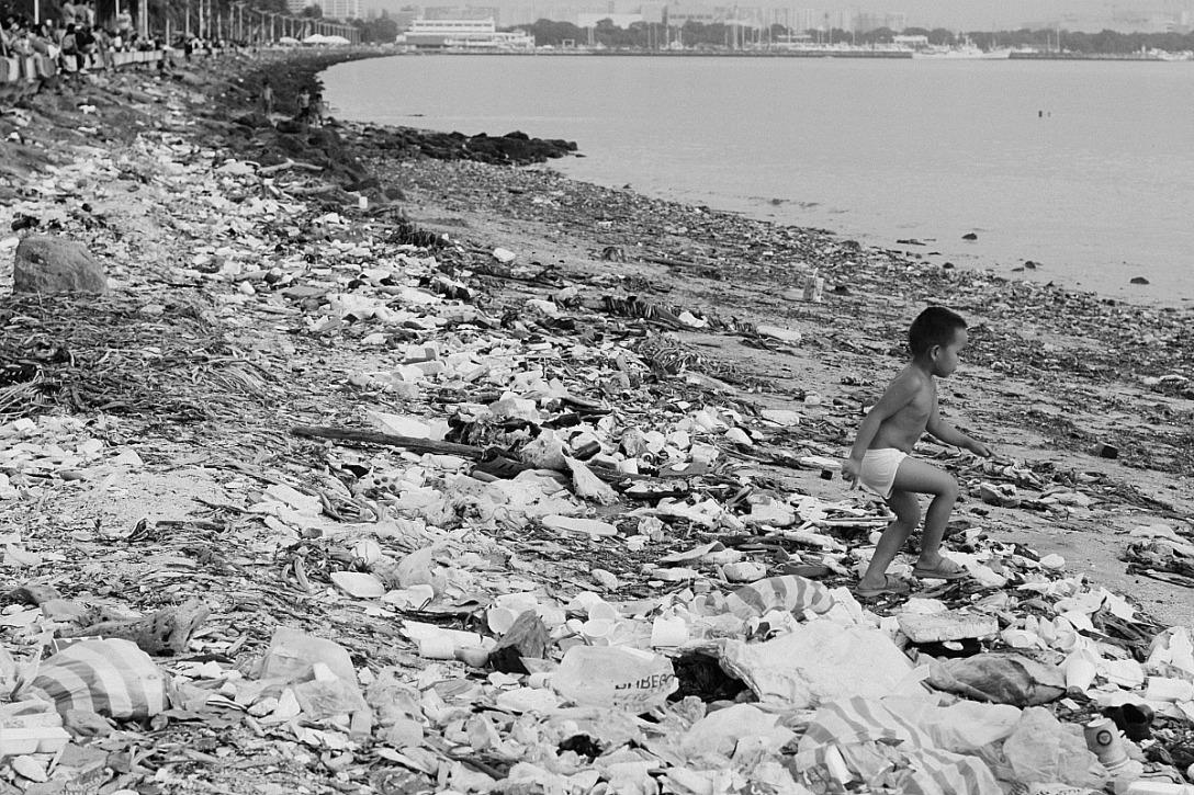 Manila Bay on any given Sunday. Elmer Nev Valenzuela