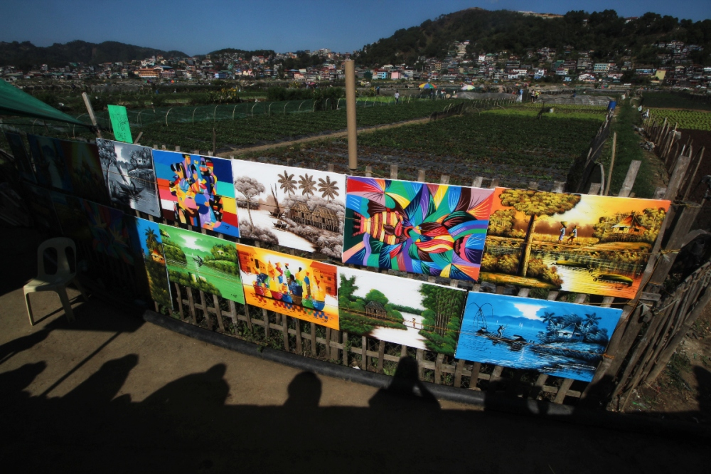 A gallery of artworks in the field