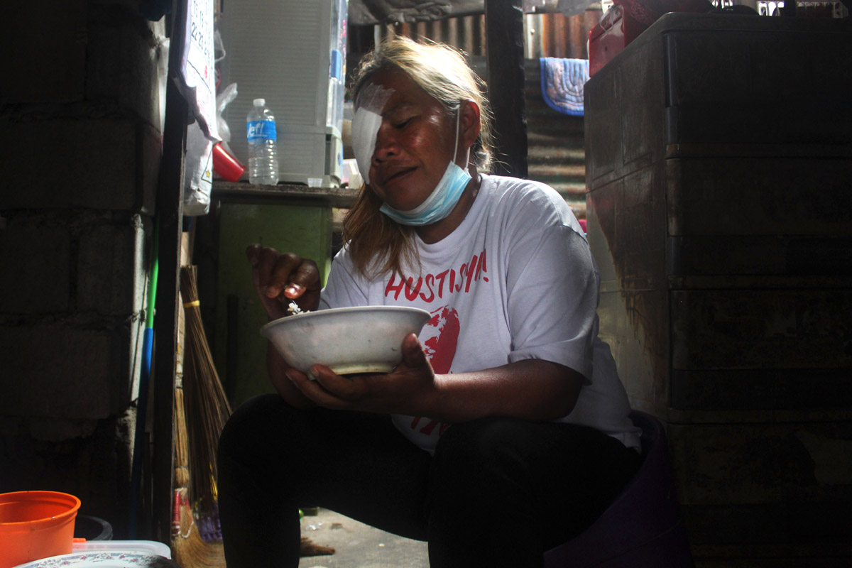 4_Sad stories over meal, Ate Bebang recounts her medical condition, death threats, and struggle for the community.